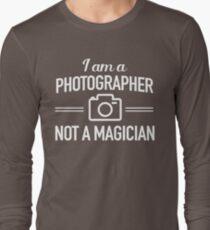 I am a photographer not a magician T-Shirt