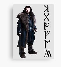 Thorin in Runes Canvas Print