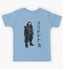 Thorin in Runes Kids Tee