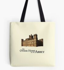 My Other Home is an Abby Tote Bag