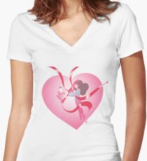 Transformation Women's Fitted V-Neck T-Shirt