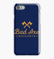 Bad Axe, Mighigan iPhone Case/Skin