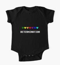 Body de manga corta para bebé Determinación