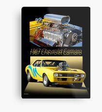 1967 Camaro 'Blower Motor' I Metal Print