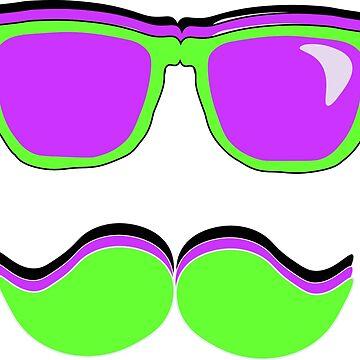Cool Moustache Bro by Boscy