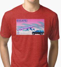 Vaporwave 4Runner Advertisement Tri-blend T-Shirt