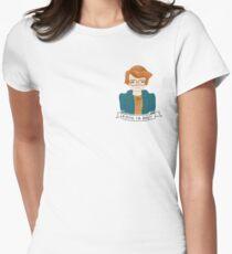 Camiseta entallada Cosas extrañas JUSTICIA PARA BARB