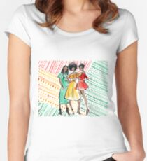 Coils in Color Women's Fitted Scoop T-Shirt