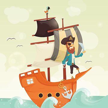 Pirate by andrapopovici