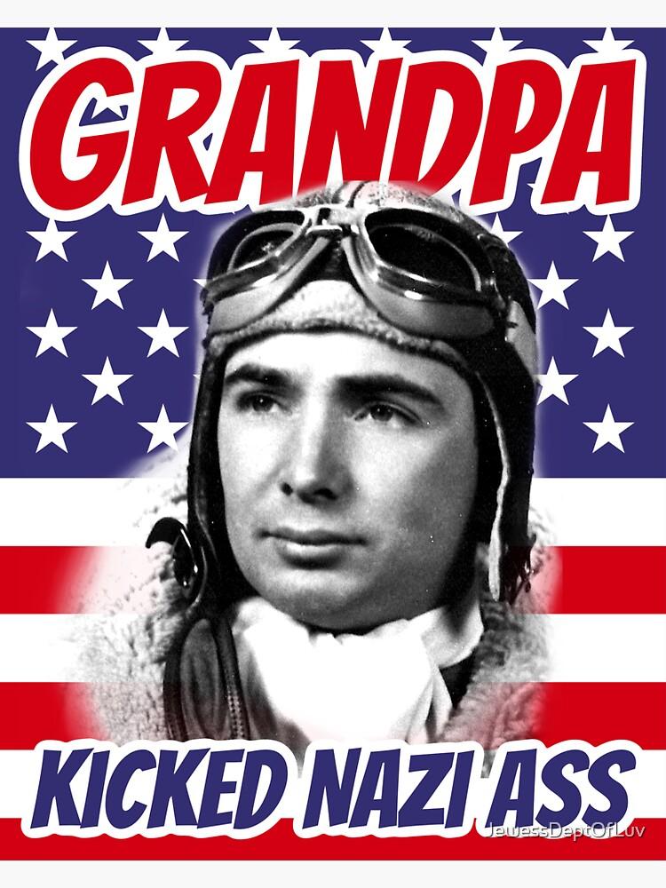 Grandpa, U.S. Army WWII by JewessDeptOfLuv