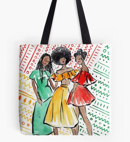 Coils in Color Tote Bag