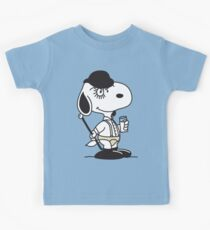 Snoopy DeLarge (A Clockwork Beagle) Kids Tee
