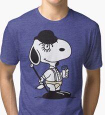 Snoopy DeLarge (A Clockwork Beagle) Tri-blend T-Shirt