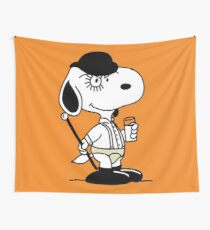 Snoopy DeLarge (A Clockwork Beagle) Wall Tapestry