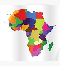 Africa (Continent) Poster