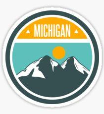 Pegatina Michigan