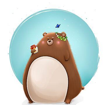 Mr. Bear by andrapopovici