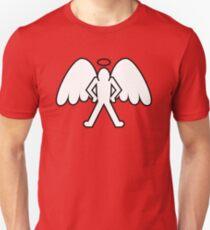 Ángel Vigilante Camiseta ajustada