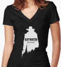 Ratwater Women's Fitted V-Neck T-Shirt