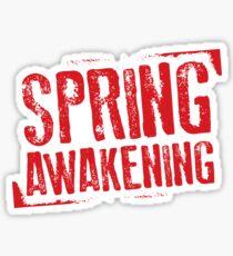 Spring Awakening logo Sticker
