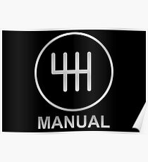 Save the Manuals!! Poster