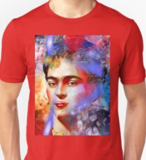 Frida Kahlo Painted Unisex T-Shirt