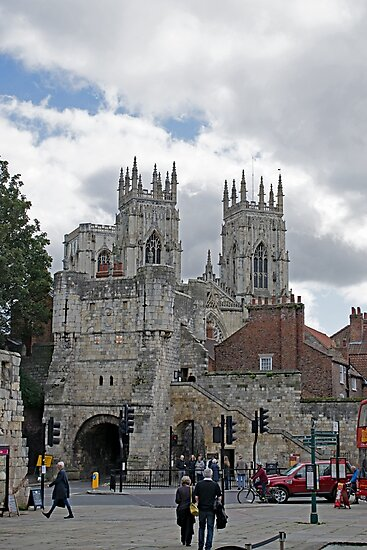 York Minster and Bootham Bar by Robert Gipson