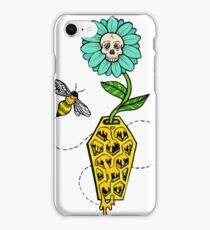Honeycomb Coffin - colored version iPhone Case/Skin