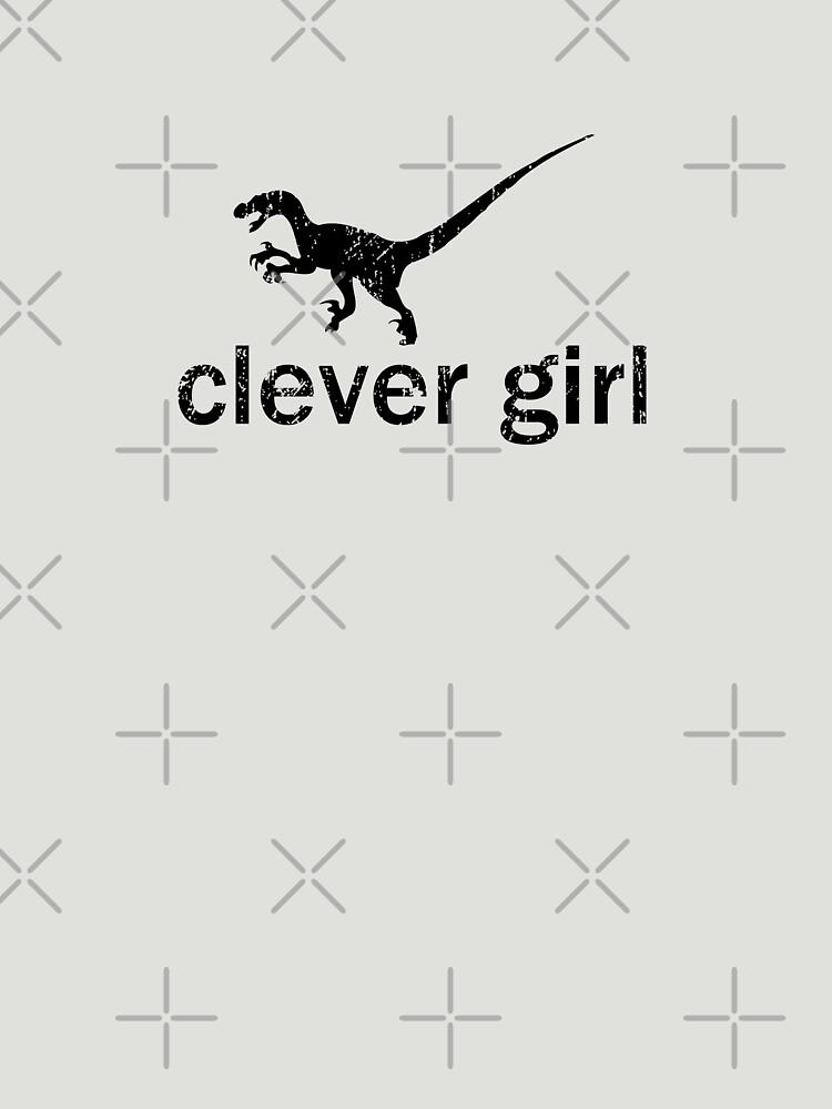 Clever Girl (Black) by robotplunger