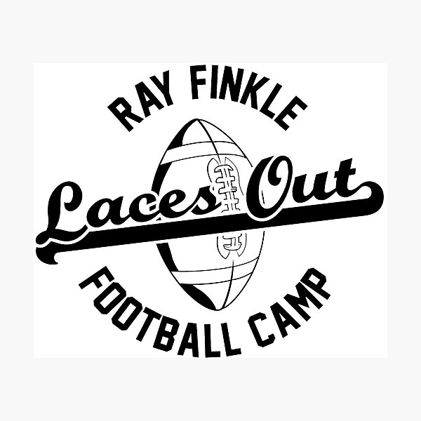 ray finkle laces out 2 Photographic Print