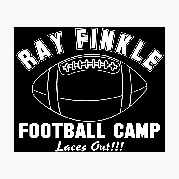 ray finkle laces out football Photographic Print