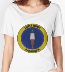 There's Always a Lighthouse Women's Relaxed Fit T-Shirt