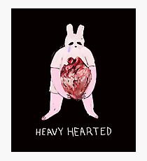 heavy hearted Photographic Print