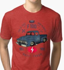 Ford F100 Truck Built Tough Vintage T-Shirt