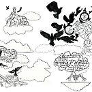 Dreamland duvet cover by Blackbird76