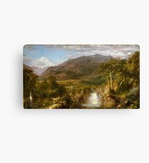 Frederic Edwin Church, The Heart of the Andes Canvas Print