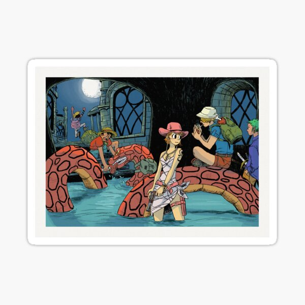 One Piece 111 Redraw Sticker