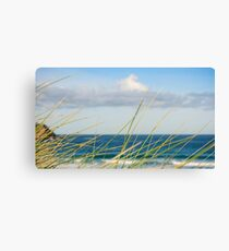 Holywell Bay,North Coast Cornwall  Canvas Print