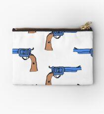 artsy gun pattern  Studio Pouch