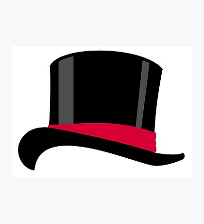 Top hat VRS2 Photographic Print