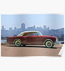 1953 Packard Caribbean Convertible Poster