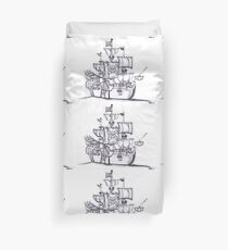 Be a Pirate Duvet Cover