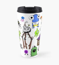 #wehatecancer Travel Mug by Chase Balay Travel Mug
