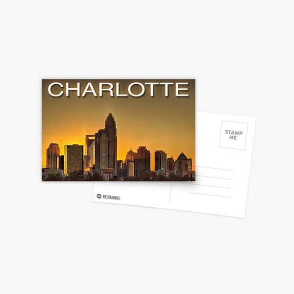 charlotte nc skyline Postcard
