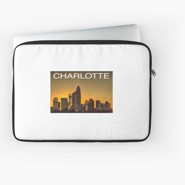 charlotte nc skyline Laptop Sleeve