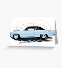 Plymouth Dart Dragster Street Machine 1969 Greeting Card