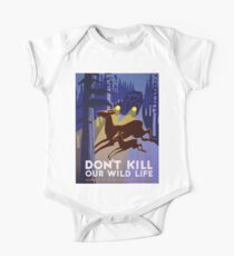 Vintage poster - Don't Kill Our Wildlife One Piece - Short Sleeve