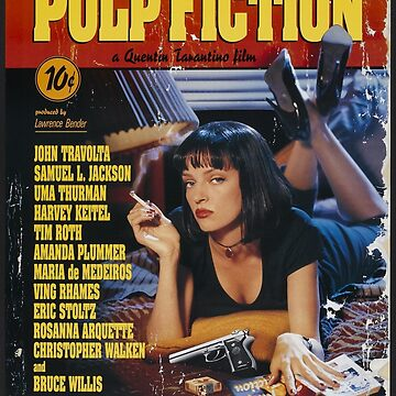 Pulp Fiction Uma Thurman Poster by MemerMike