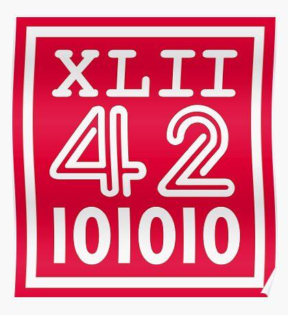 42 since the Romans VRS2 Poster