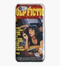 Pulp Fiction Uma Thurman Poster iPhone Case/Skin
